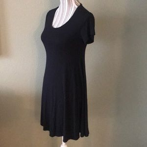 Style & Co Cozy black dress